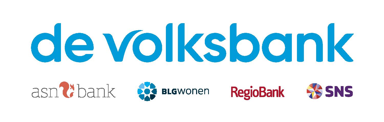 Logo de volksbank asn bank regiobank sns bank blg wonen